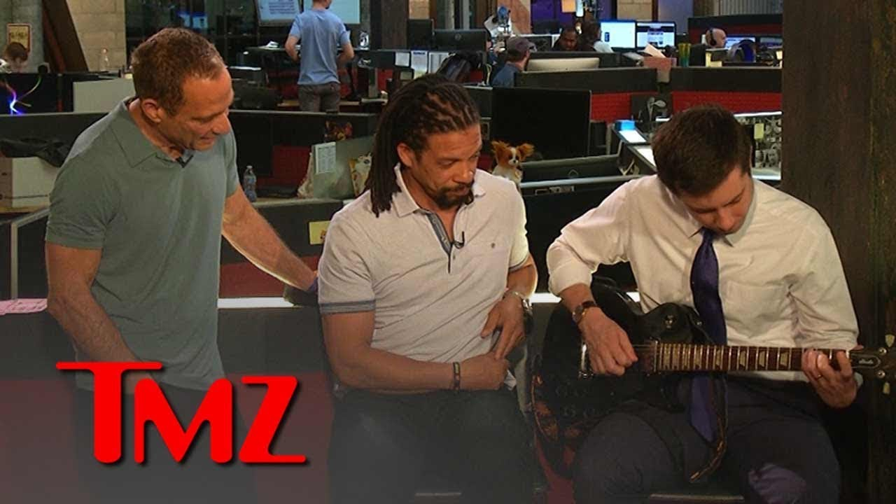 Mayor Pete Buttigieg Reveals Fave Bands, Plays Jimi Hendrix on Guitar | TMZ 5
