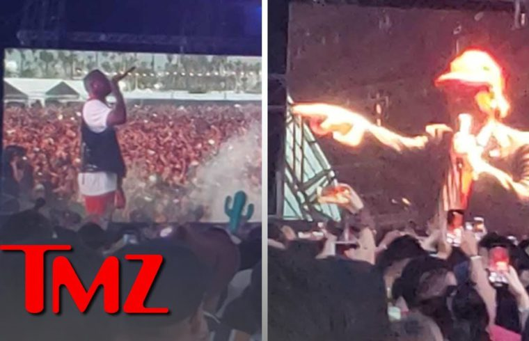 YG Asks For Moment of Silence For Nipsey, Sings 'F*** Donald Trump'   TMZ 1