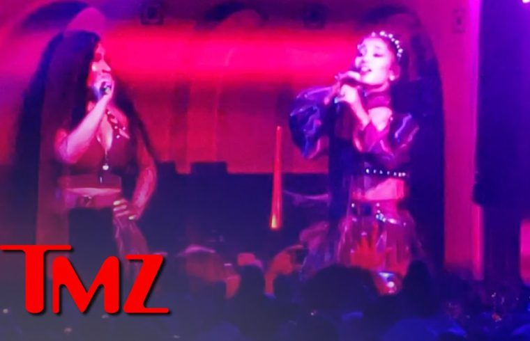 Ariana Grande and Nicki Minaj Take the Stage at Coachella | TMZ 1