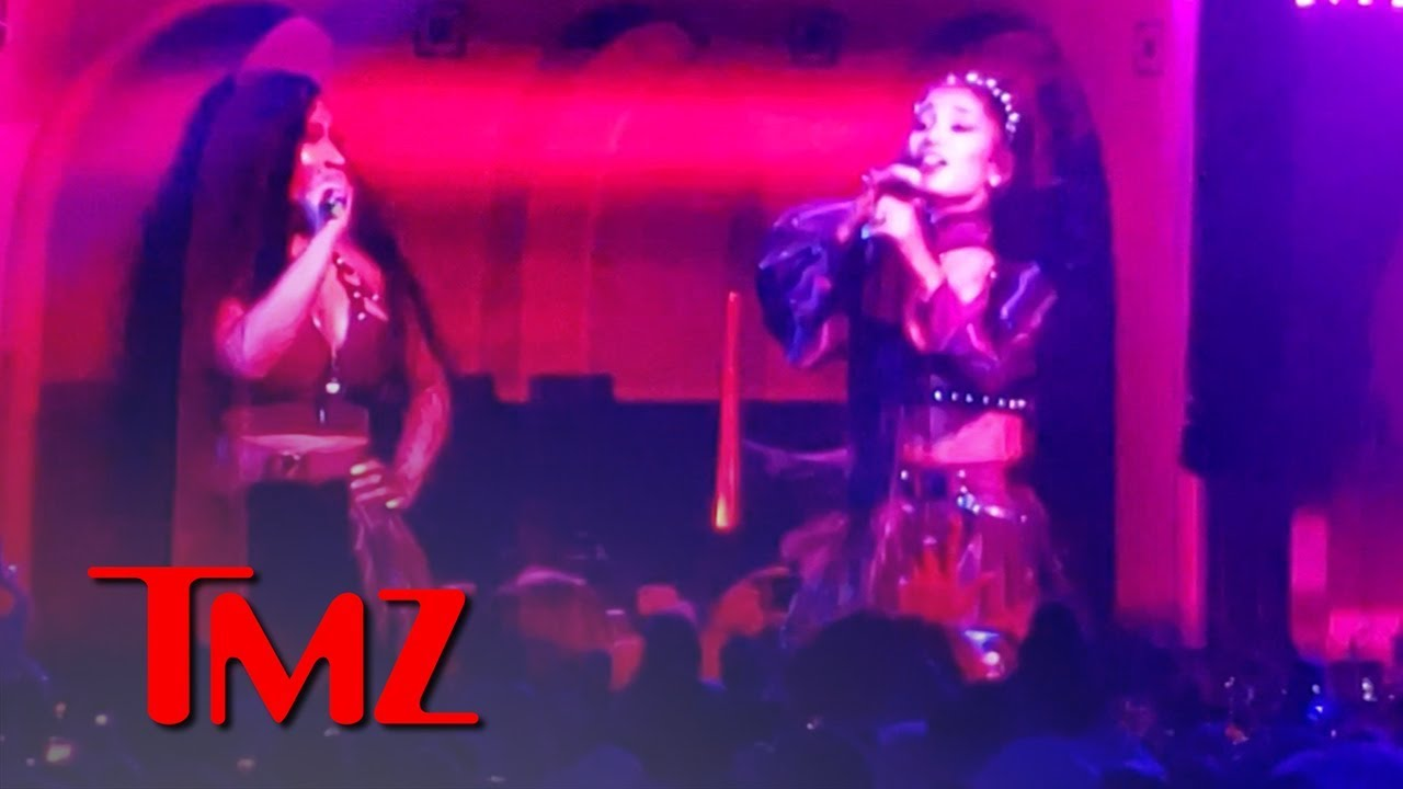 Ariana Grande and Nicki Minaj Take the Stage at Coachella | TMZ 3
