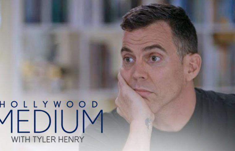 Steve-O Stills Suffers Over Trauma Late Mom Suffered | Hollywood Medium with Tyler Henry | E! 1
