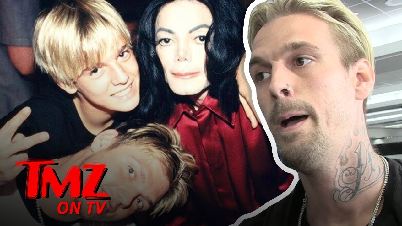 Aaron Carter Ready To Tell The Truth About MJ?! | TMZ TV 4
