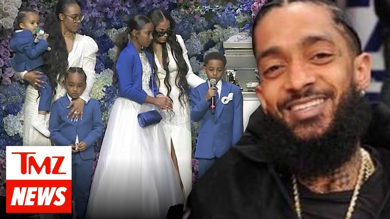 Nipsey Hussle's Family Rejects Crowdfunding, His Kids Are Set for Life | TMZ NEWSROOM TODAY 4