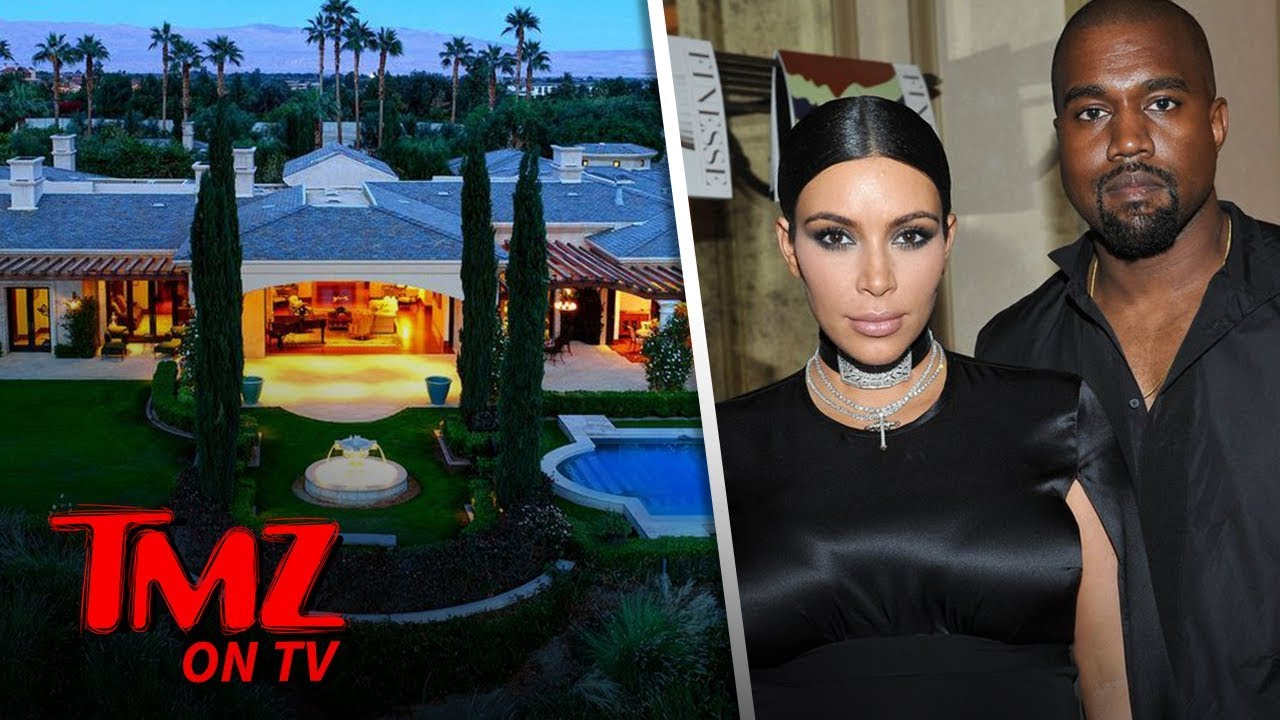 Kim & Kanye Buying A Vacay Home Next Door To Kris! | TMZ TV 5