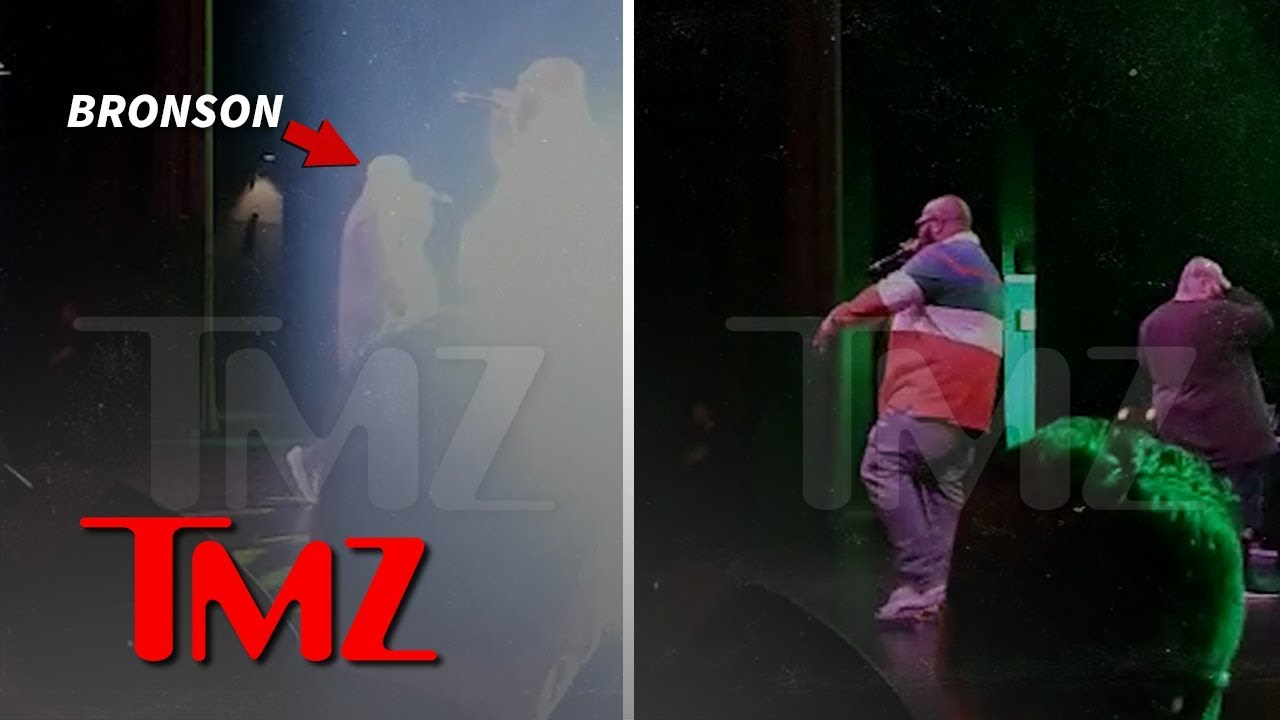 Action Bronson Blinded by Strobe Light, Leaves Show to Get Eyes Checked | TMZ 2