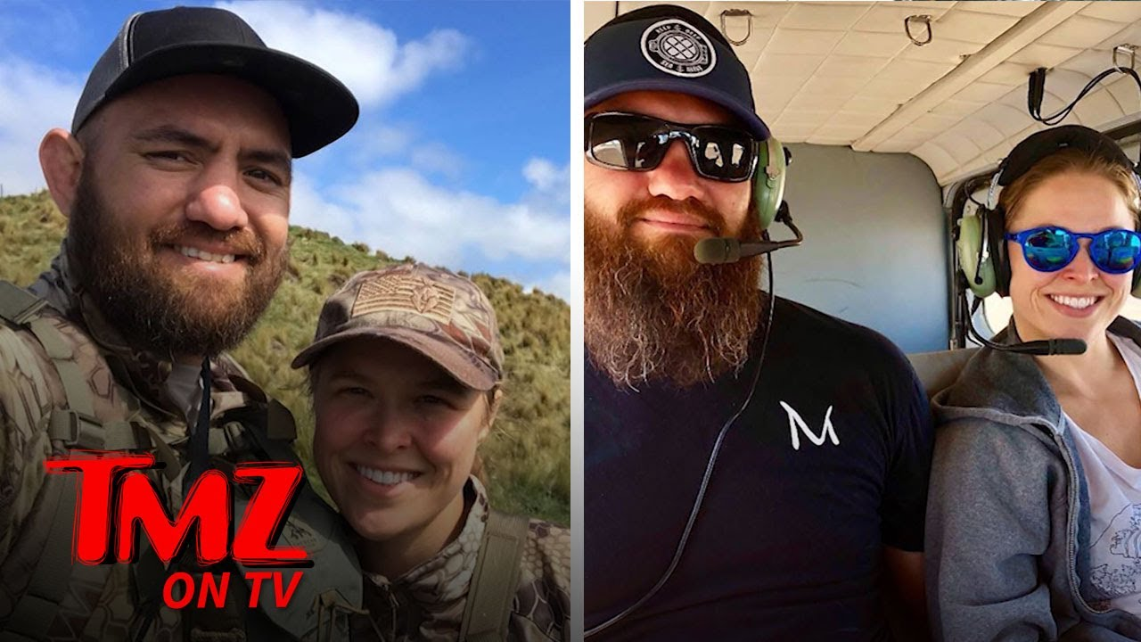 Ronda Rousey Takes WWE Hiatus to Get Pregnant & Start A Family | TMZ TV 1