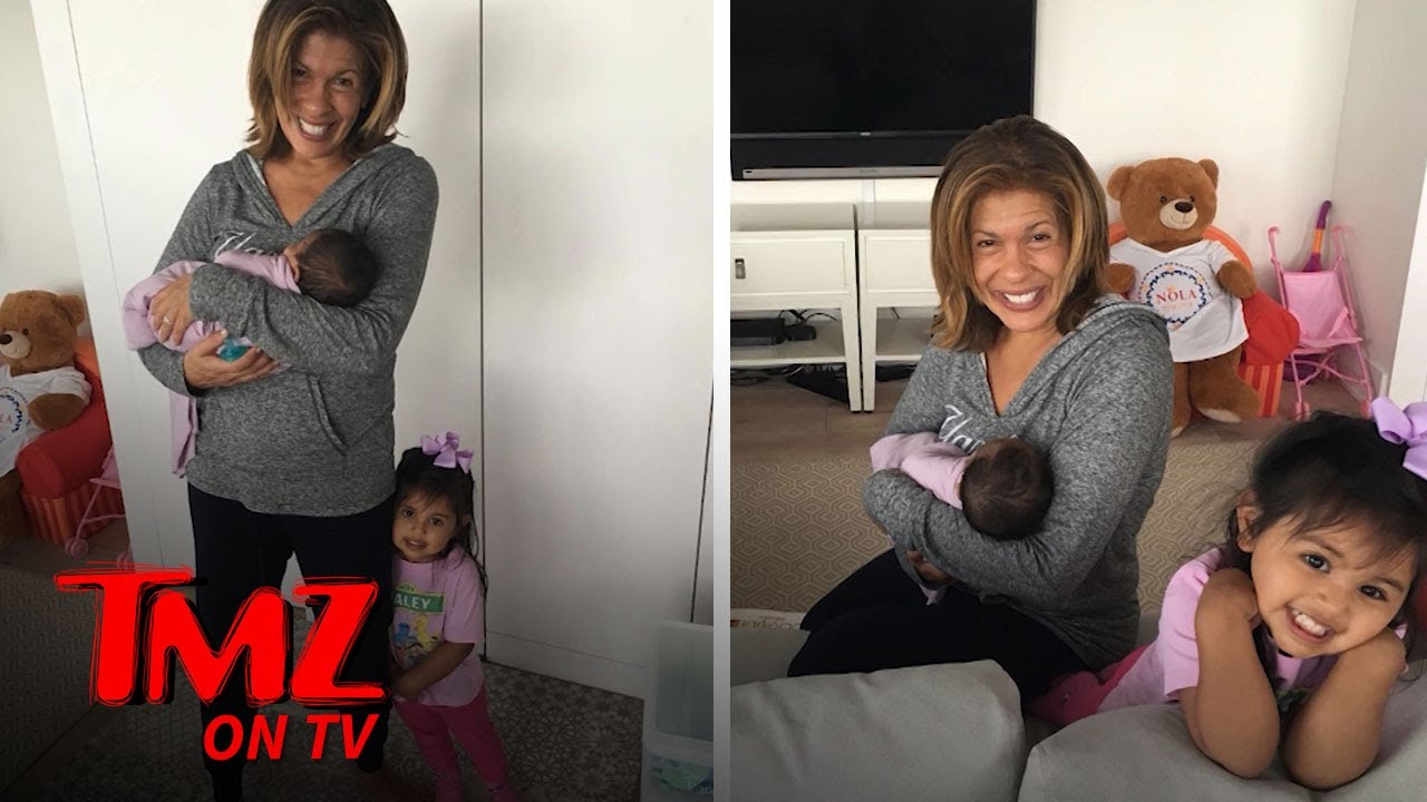 Hoda Kotb Adopted A Second Child! | TMZ TV 2