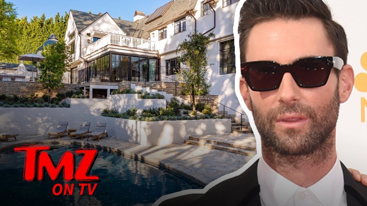 Adam Levine Puts Beautiful Beverly Hills Home on Market for $47.5 Million | TMZ TV 5