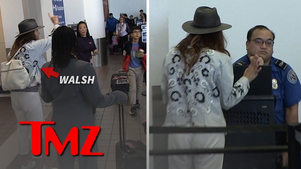 Kate Walsh Melts Down at LAX Over Bag She Left Behind on Flight | TMZ 1