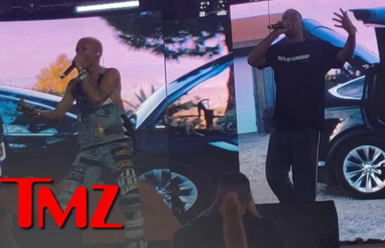 Will Smith Performs with Jaden and Willow Smith at Coachella | TMZ 1