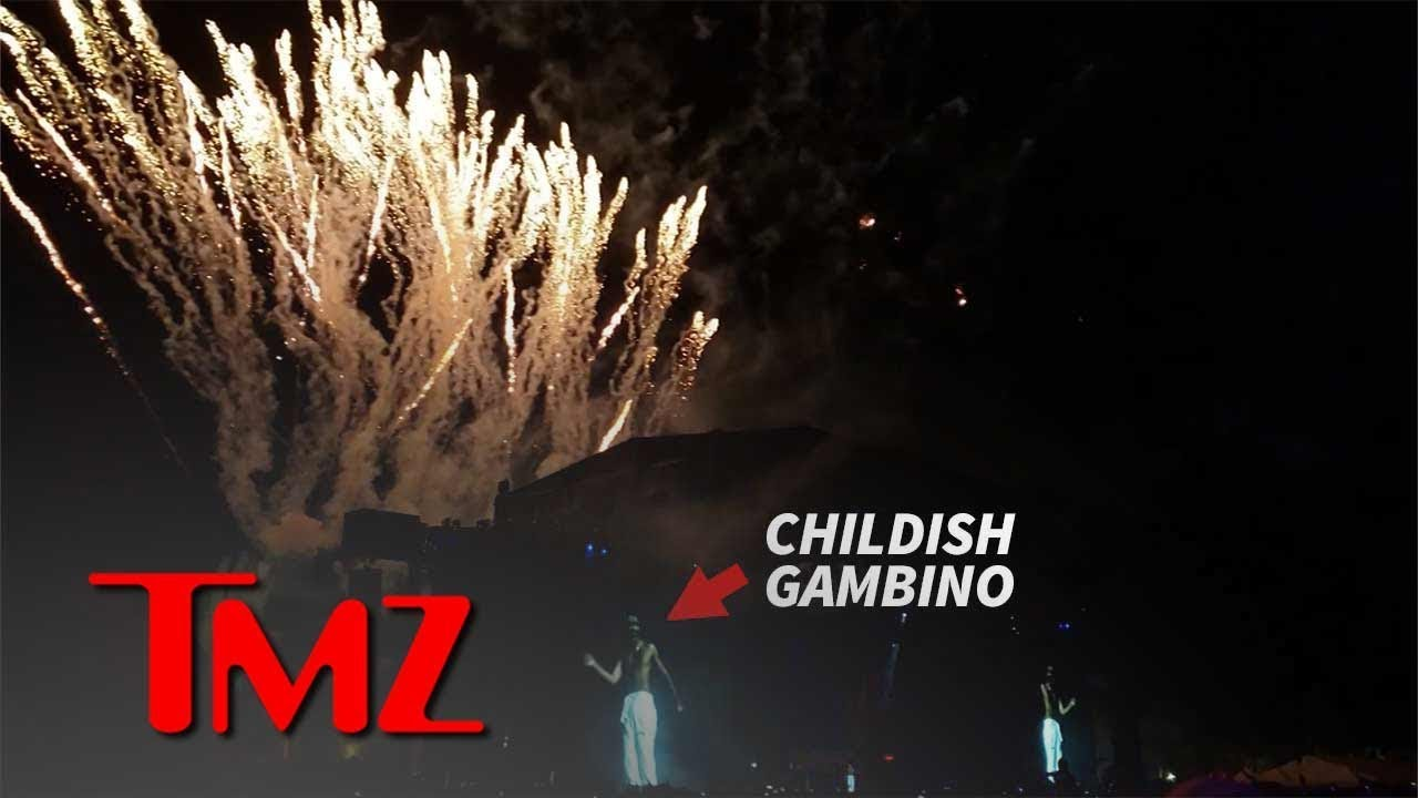 Childish Gambino Fires Off Brand New Show for Weekend 2 at Coachella | TMZ 5