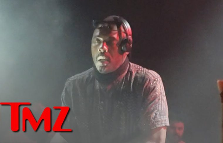 Idris Elba DJ's at Coachella Week 2 and Shows How It's Done 1
