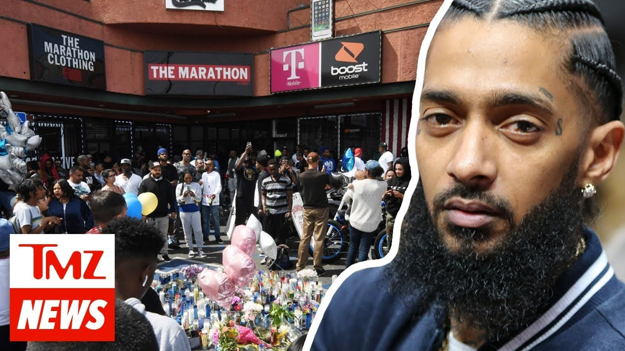 Nipsey Hussle Surveillance Video Shows Getaway Driver's Ties to Murderer | TMZ NEWSROOM TODAY 5