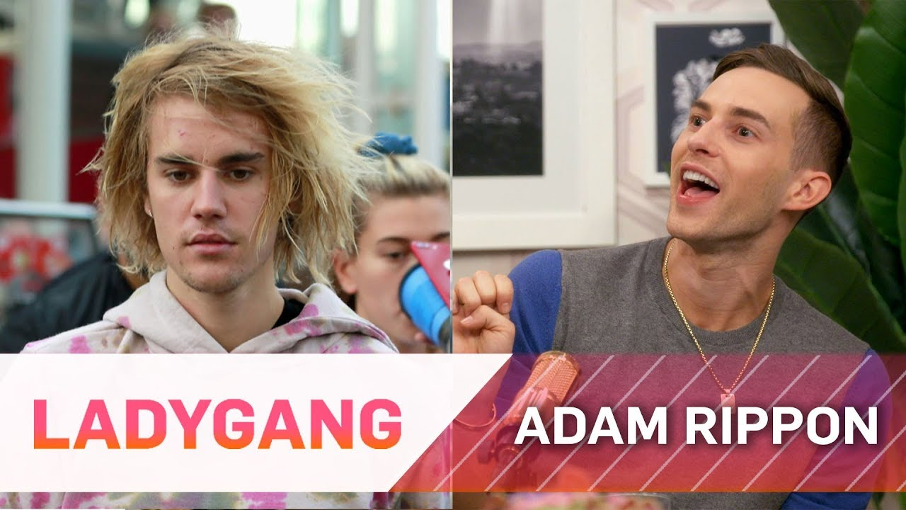 Adam Rippon Reacts to Justin Bieber Trolling Shawn Mendes | LadyGang | E! 2