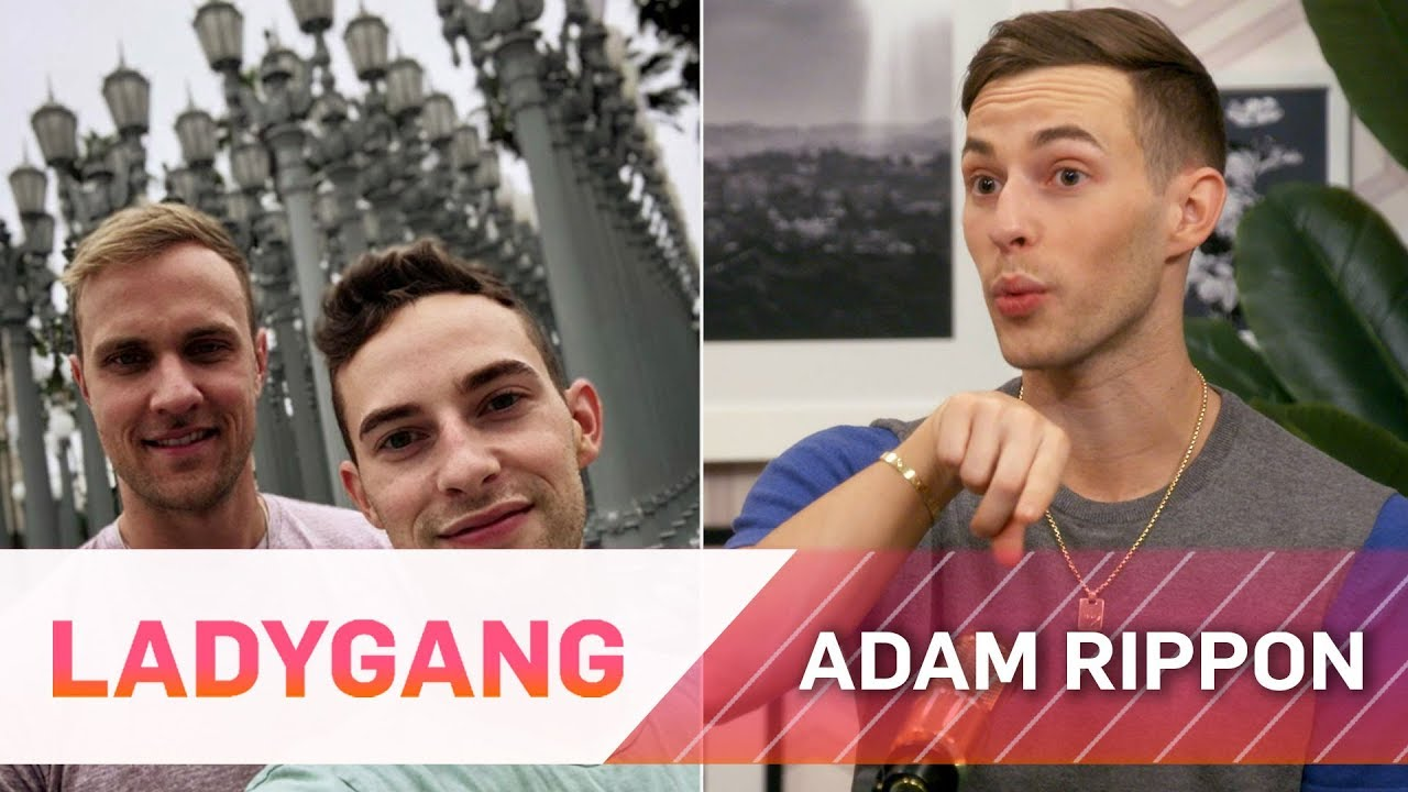 Adam Rippon on Swiping Right on Tinder for His Current Boyfriend | LadyGang | E! 5