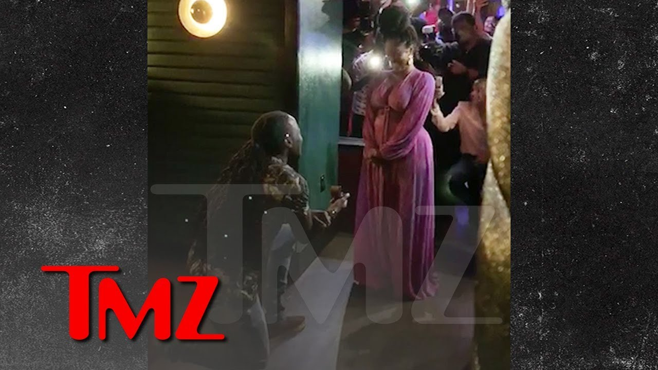 Rapper Ace Hood Proposes to GF with Beyonce Track Playing High   Large H264 4