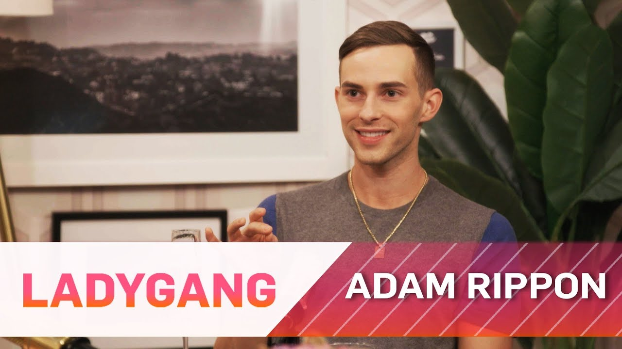 Adam Rippon Impersonates Britney Spears & More Outakes | LadyGang | E! 3