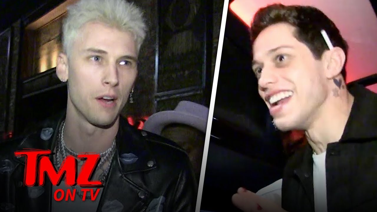 MGK's 29th Birthday with Pete Davidson & Hot Chicks! | TMZ TV 3