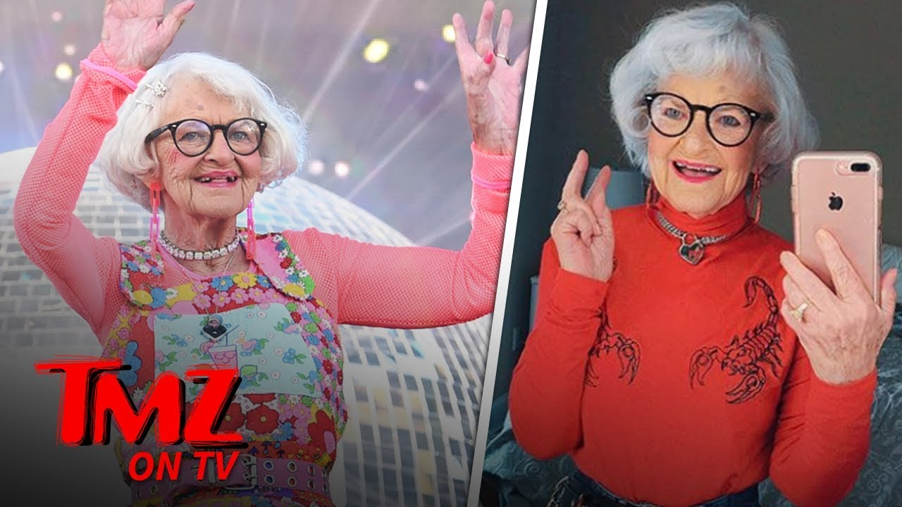 Baddie Winkle Is The Most Fashionable 90-Year-Old In The World | TMZ TV 1