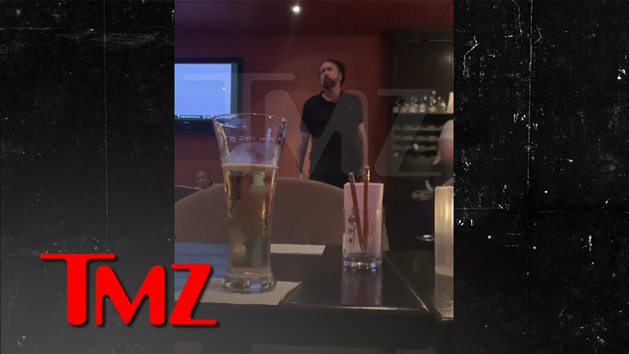Nicolas Cage Back for More Karaoke, Trying to Make 'Purple Rain' His Anthem | TMZ 2