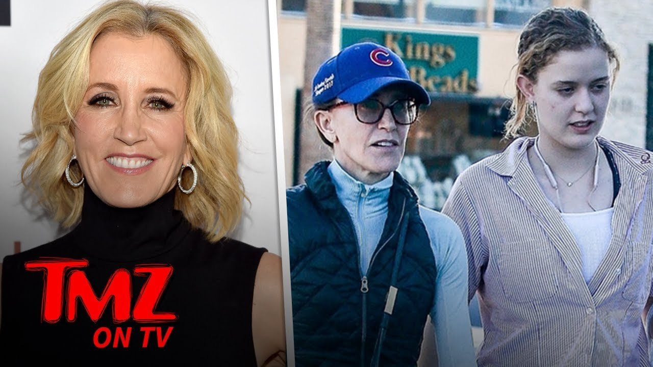 Felicity Huffman and Daughter Out in L.A. Amid College Bribery Scandal | TMZ TV 4