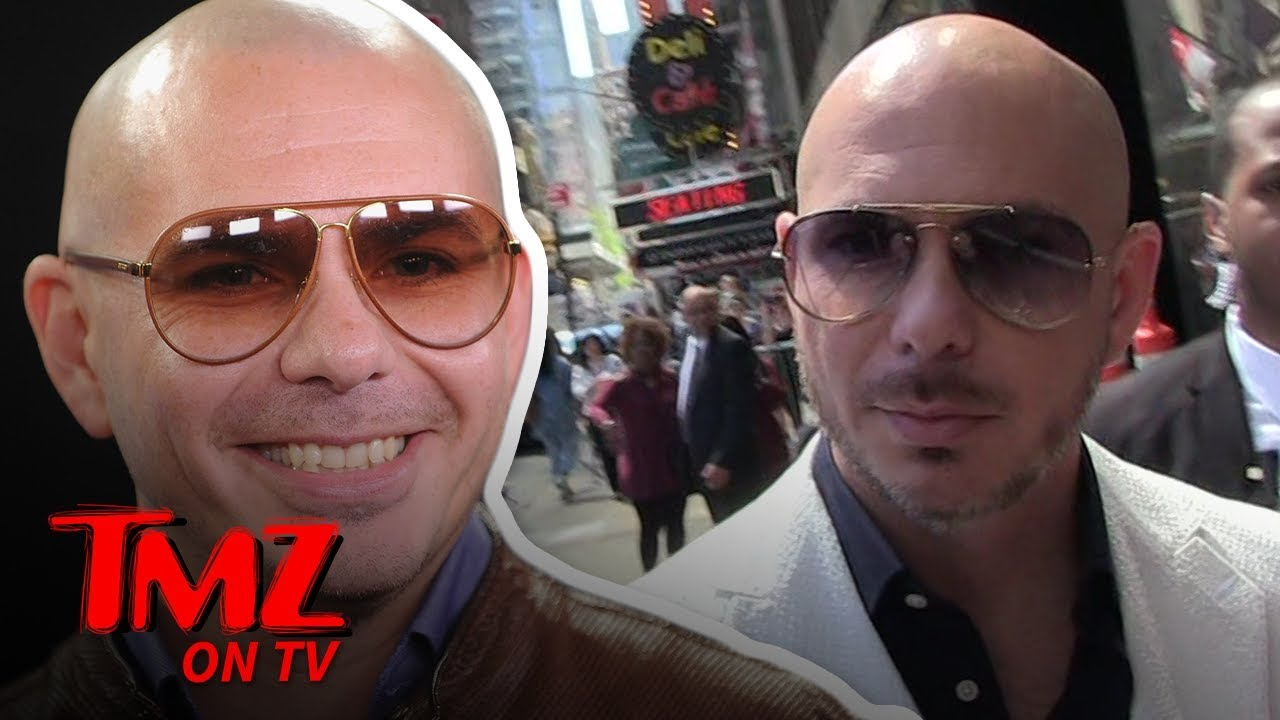 Pitbull Says TMZ Needs To Up It's Spanish Speaking Game | TMZ TV 3