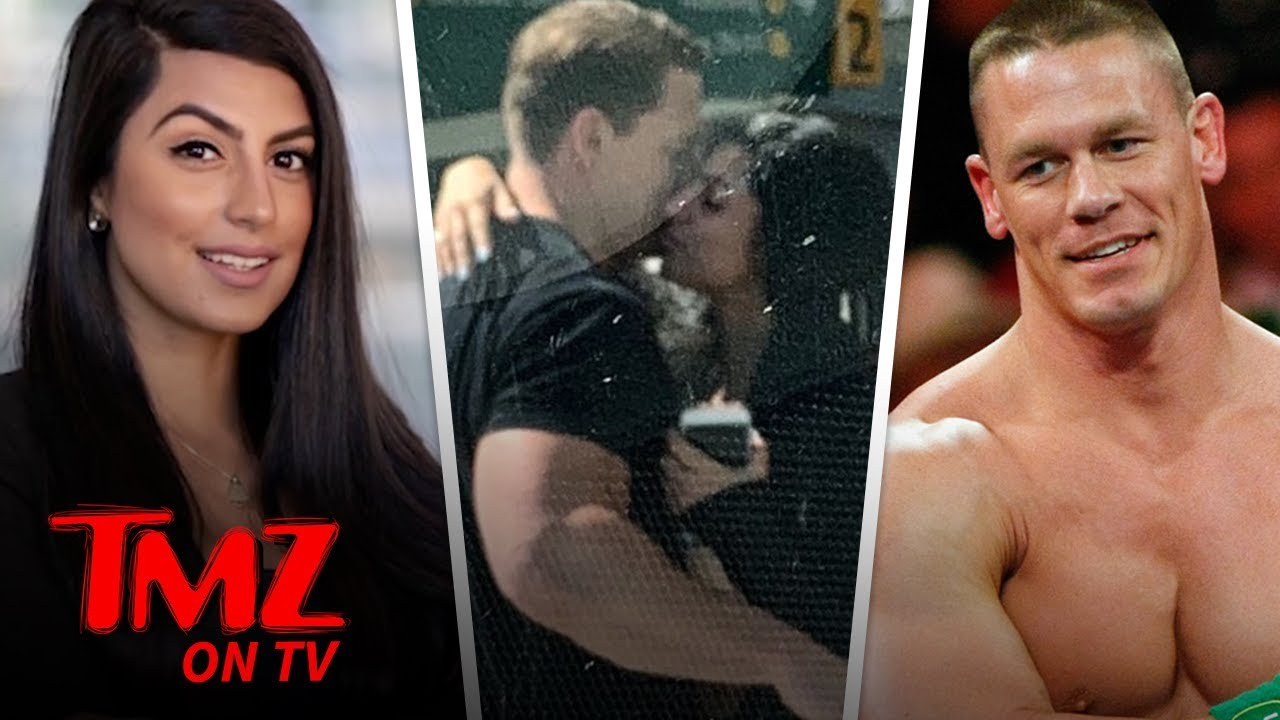 John Cena Kisses New Girlfriend, Making Things Official | TMZ TV 3