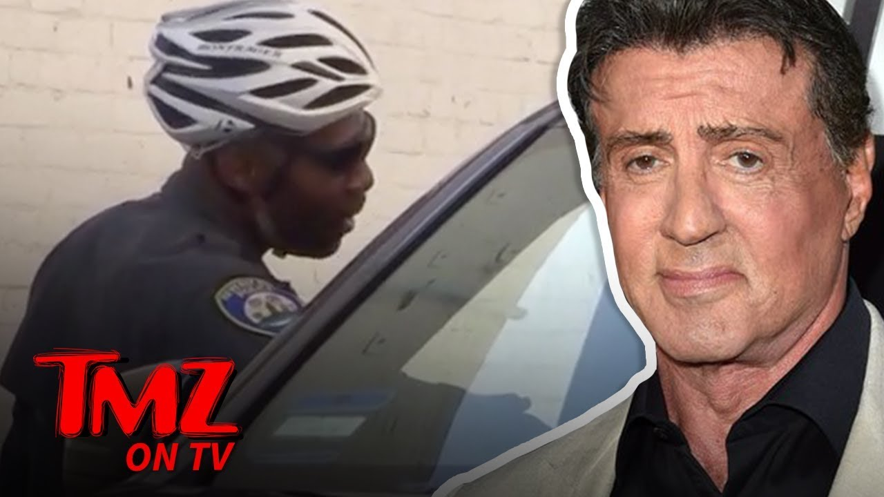 Sylvester Stallone Gets Parking Ticket, But Offers Sage Advice Afterward | TMZ TV 4