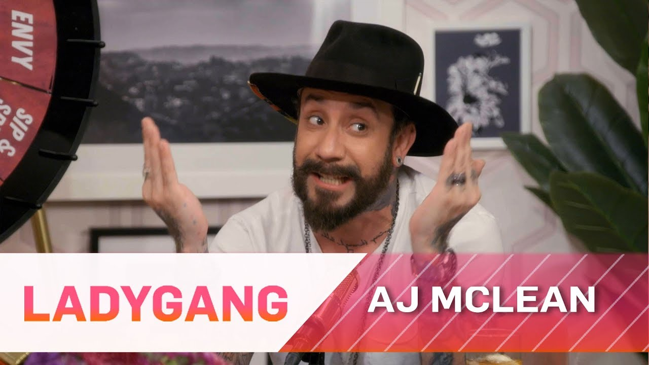 AJ McLean Gives Men Sex Advice on Satisfying Ladies | LadyGang | E! 1
