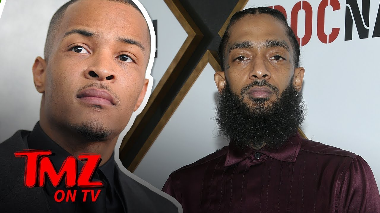 T.I., The Game, & More Speak Out On Nipsey Hussle's Passing | TMZ TV 5