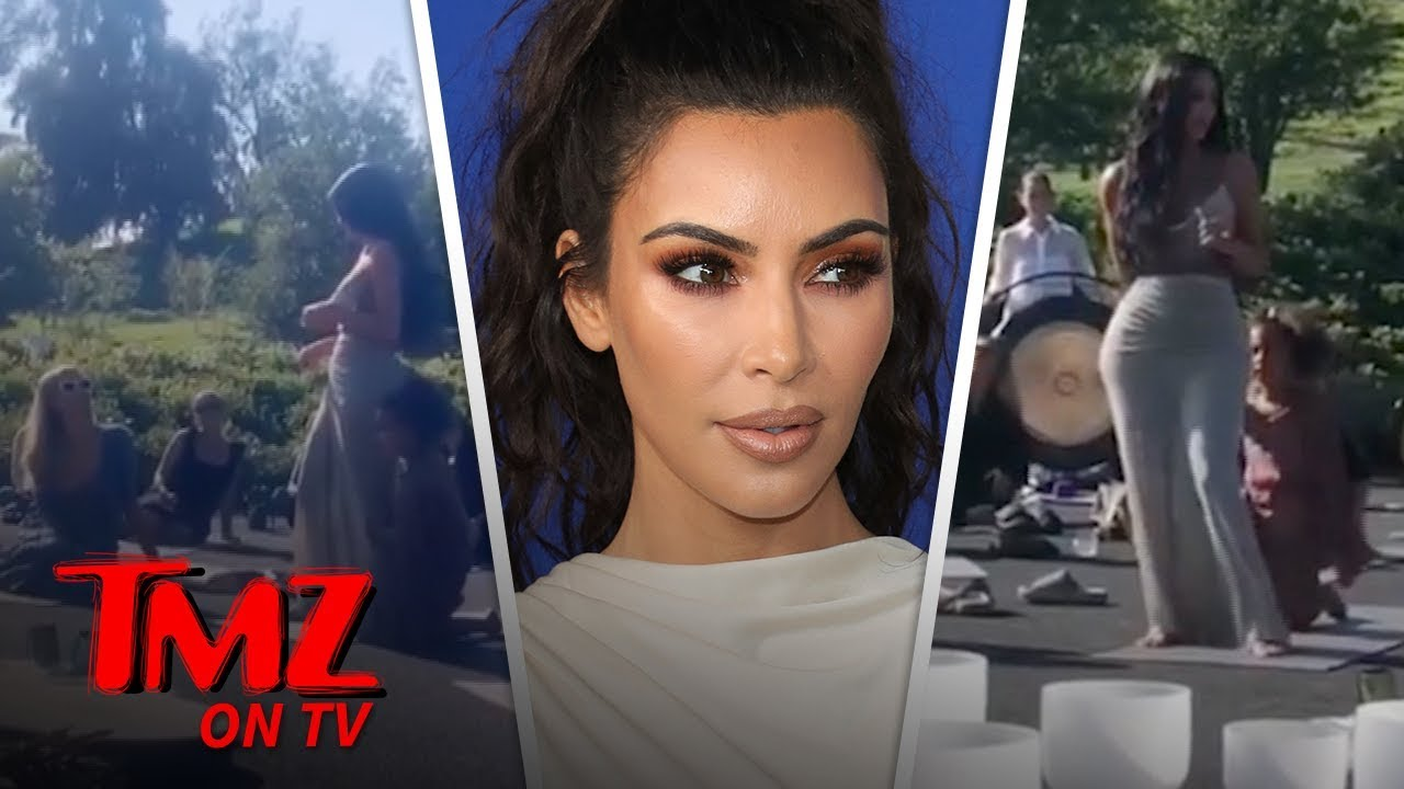 Kim Kardashian's CBD Themed Baby Shower Is Truly A Sight To Behold | TMZ TV 1