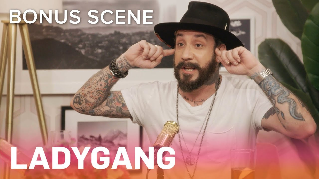 AJ McLean Confirms Feud With *NSYNC's Chris Kirkpatrick | LadyGang Bonus Scene | E! 2