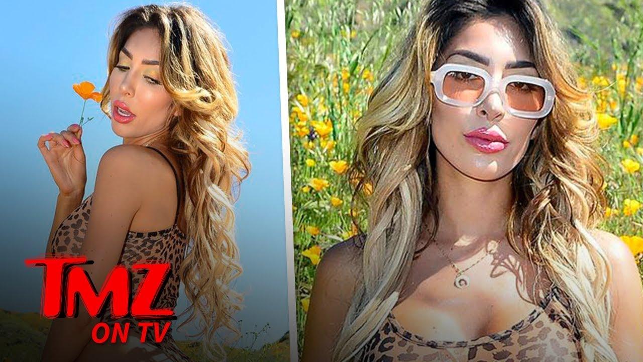 Farrah Abraham's Poppin' Her Body On Poppy Field During Super Bloom | TMZ TV 3