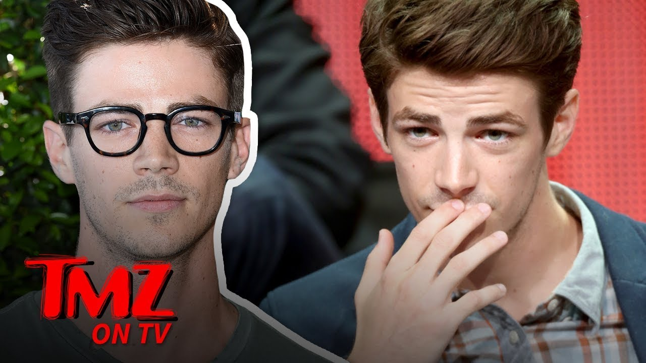 'The Flash' Star Grant Gustin Triggers Alarm After Vaping on Flight | TMZ TV 1
