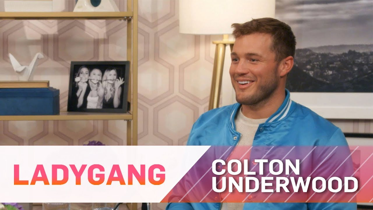 Colton Underwood Answers Ladies' Burning Questions | LadyGang | E! 2