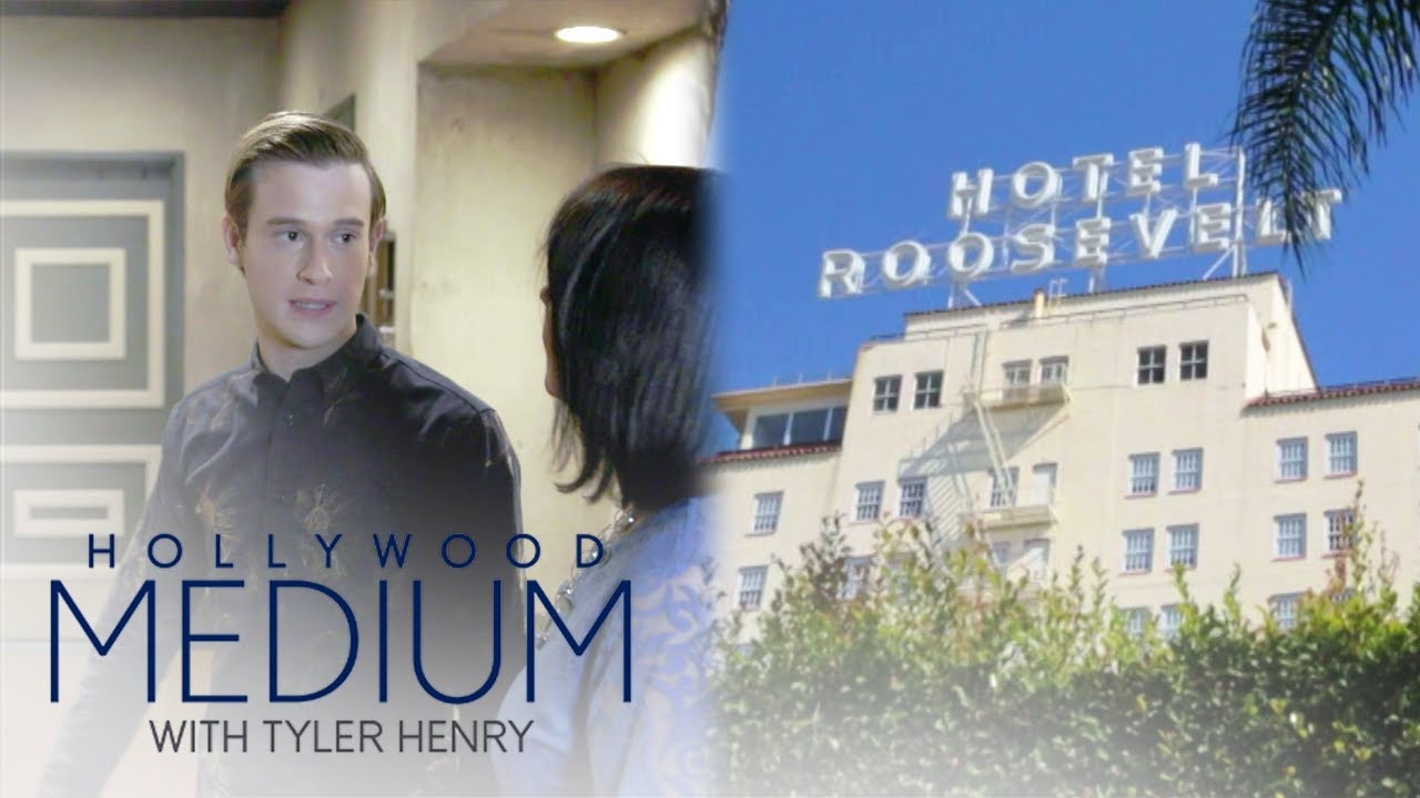 Tyler Henry Pinpoints Where at The Hollywood Roosevelt Is Haunted | Hollywood Medium | E! 1