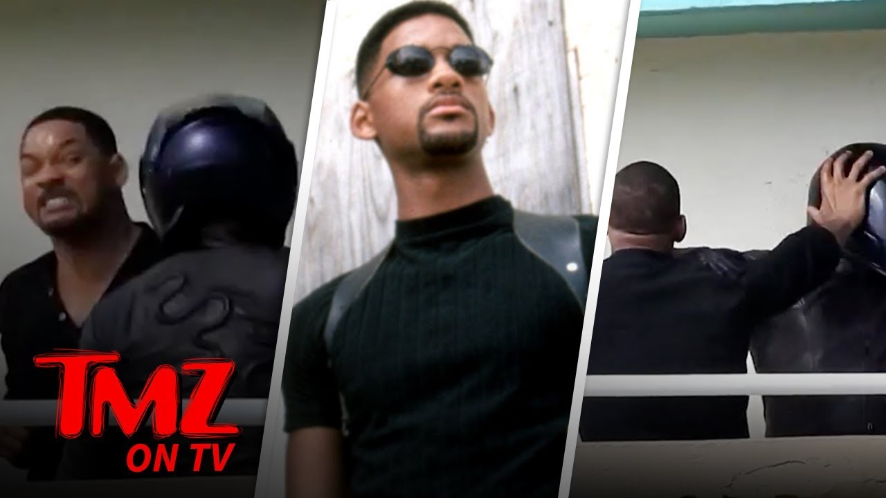 Will Smith Films Fight Scene for 'Bad Boys' 3, Hold the Stunt Double | TMZ TV 1