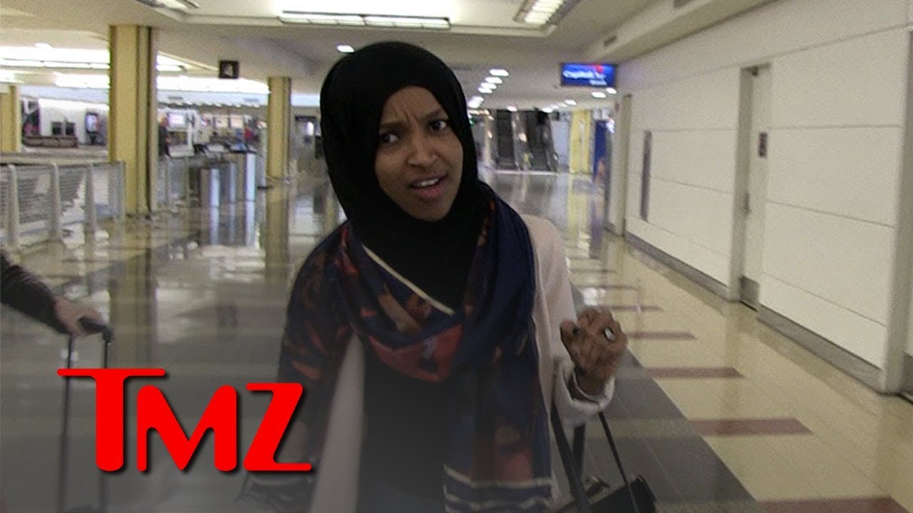 Rep. Ilhan Omar Praying for Trump's Soul After Supporter's Death Threat | TMZ 3