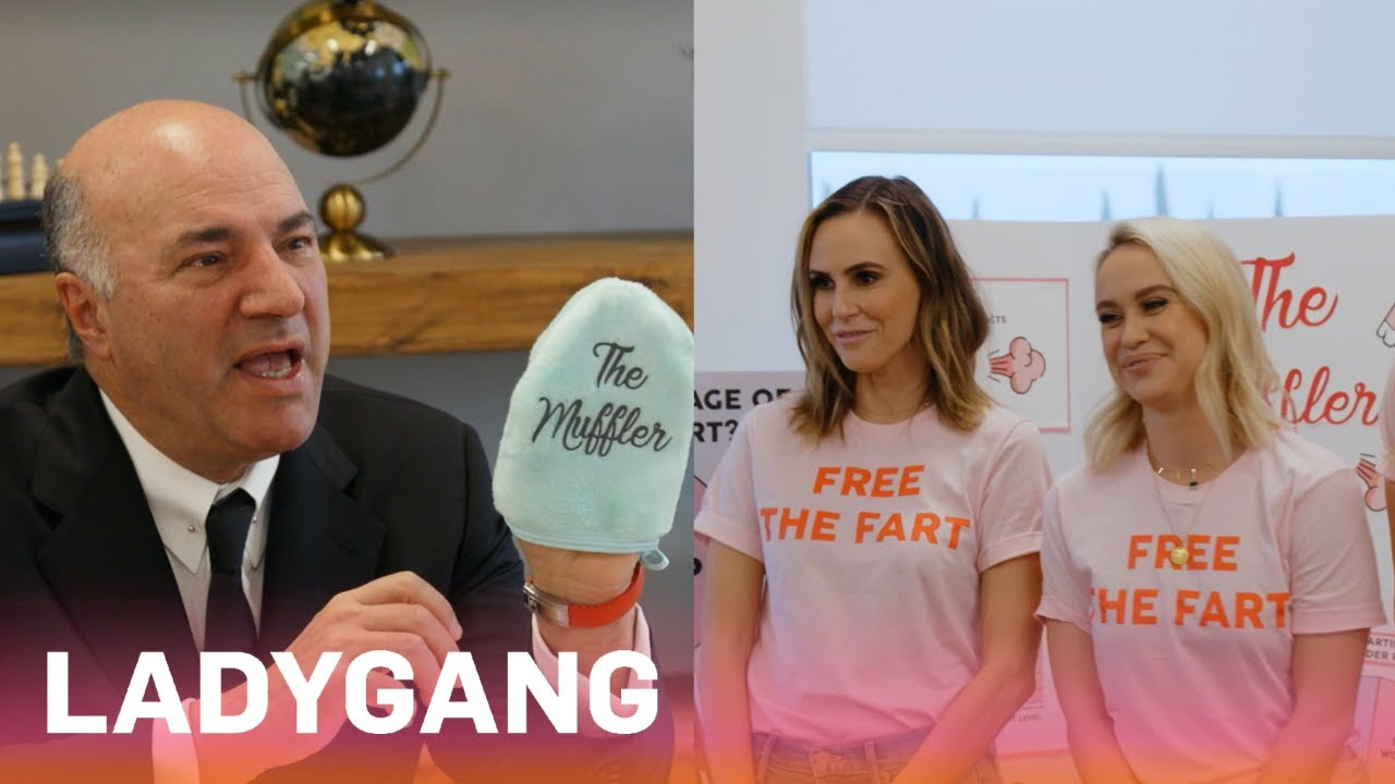 "Becca, Jac & Keltie Try to Free the Fart With ""The Muffler"" 