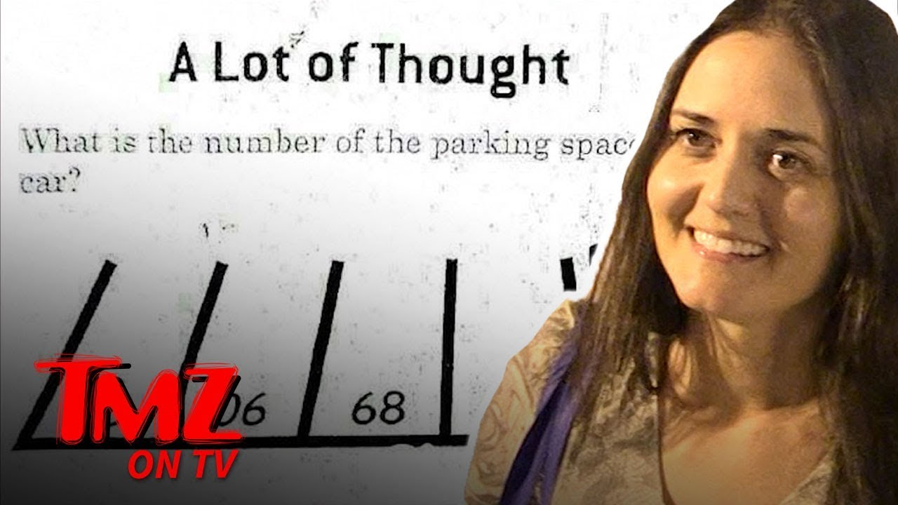 Math Wiz Danica Mckellar Stumped By Camera Guy's Question | TMZ TV 4