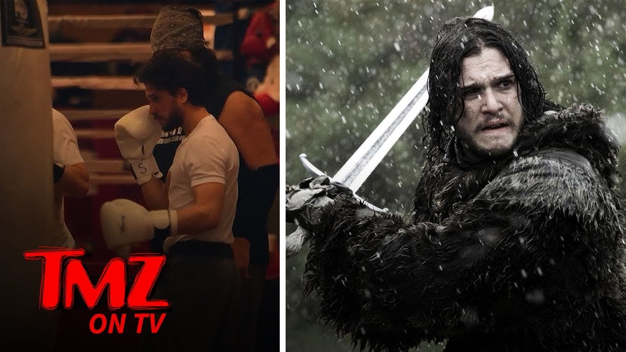 'Game of Thrones' Star Kit Harington Shows Off Boxing Skills | TMZ TV 5