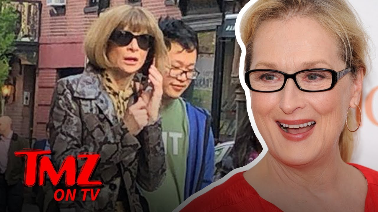 Meryl Streep & Anna Wintour Have The Ultimate Power Lunch | TMZ TV 2