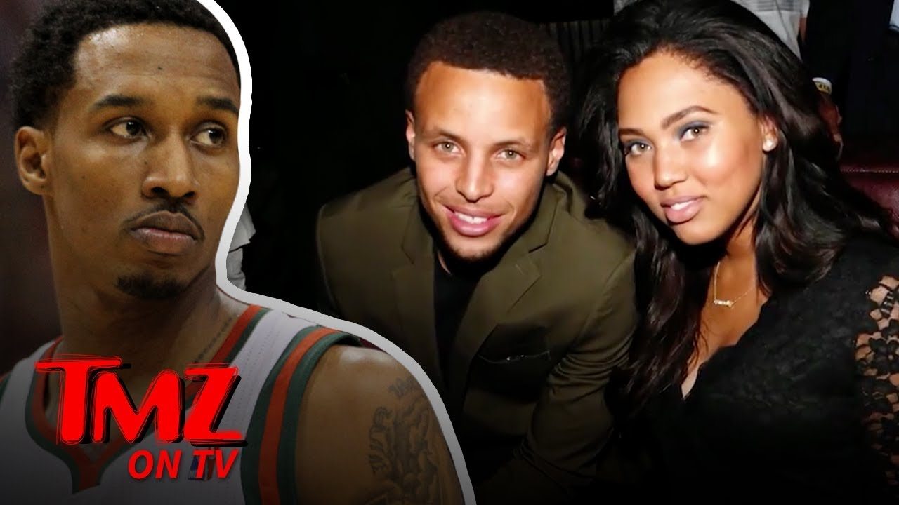 Former NBA Star Tells Steph Curry's Wife She's Beautiful | TMZ TV 3