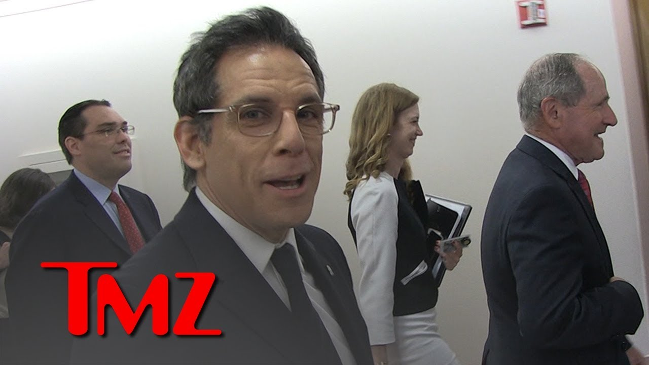 Ben Stiller Admits He's Nervous Before Testifying on Syrian Refugees | TMZ 4