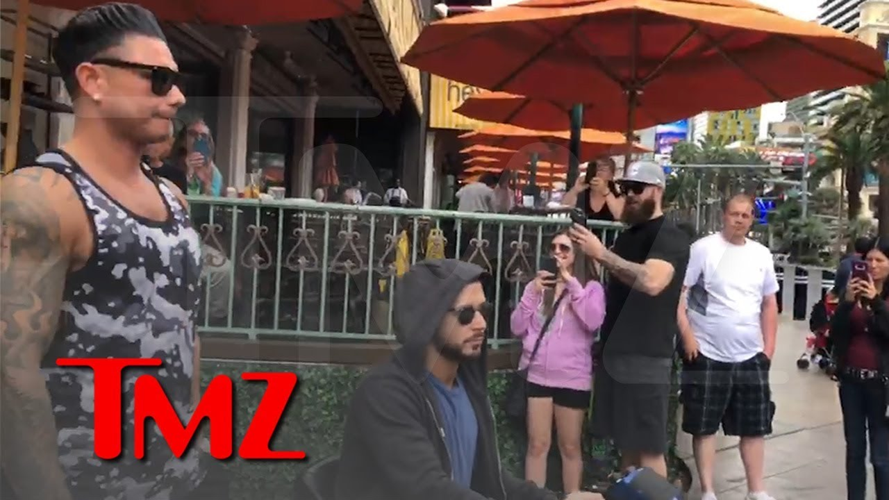 'Jersey Shore' Star Vinny Sprains Ankle Rehearsing For Chippendales | TMZ 4