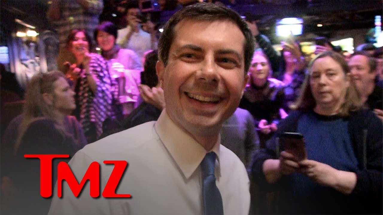 Pete Buttigieg Talks Rescue Dogs in the White House at The Abbey Fundraiser | TMZ 5