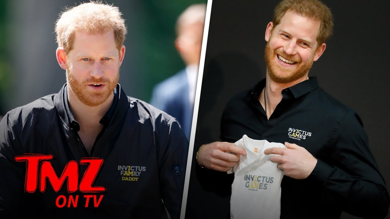 Prince Harry Back to Work as Model Dad for Invictus Games | TMZ TV 5