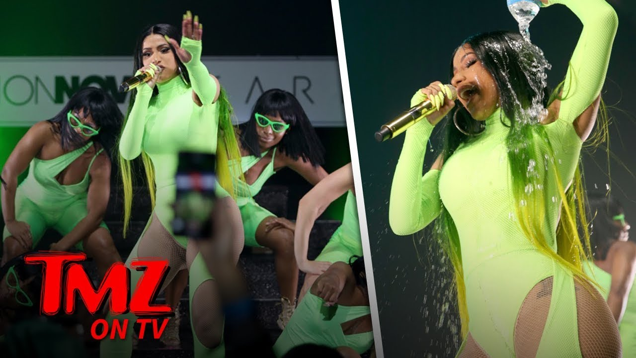 Cardi B & Her Booty Celebrate The Launch Of Her New Fashion Line | TMZ TV 6