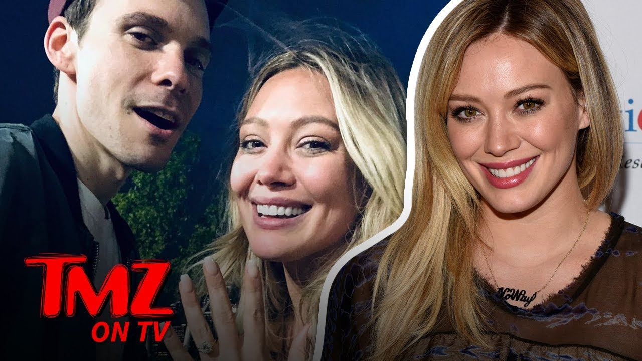 Hilary Duff Gets Engaged To Matthew Koma! | TMZ TV 5