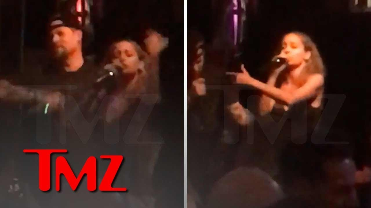 Nicole Richie Rapping Karaoke with Husband Joel Madden | TMZ 4